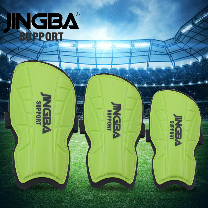 JINGBA SUPPORT 1 Pair Protective Gear Shin pads Kids/Adult Soccer Training football leg safety protege tibia football adultes