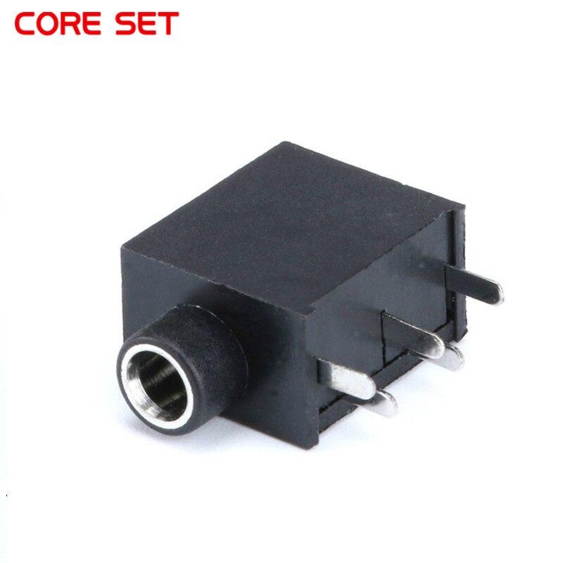 Conector de Audio hembra de 3,5mm de buena calidad, 10 Uds., conector SMT SMD de 5 pines, Conector de auriculares, Mono canal estéreo