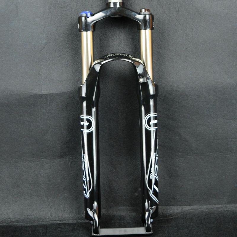 Pasak garfo de freio a disco para bicicleta, garfo para mountain bike, garfo com mola, 26/27, 27.5, liga de alumínio qr 9*100 tubo 1 1/8