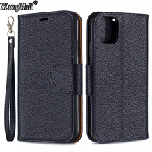 Classic Litchi Leather Wallet Phone Case For iPhone 11 Pro 2019 Funda iPhone Xs Max XR 7 8 6s 6 Plus Stand Card Slots Cover Case hat prince high quality protective case w stand and card slots for 4 7 iphone 6 black
