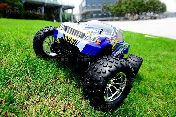 Free shipping RC Monster HSP 94188 Nitro 4WD 2.4GHz 110 RTR RC CAR Big Foot d8