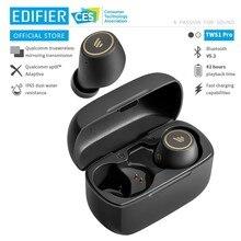 EDIFIER TWS1 Pro TWS bezprzewodowe słuchawki Bluetooth aptX Bluetooth V5.2 do 42 godzin czas odtwarzania szybkie ładowanie