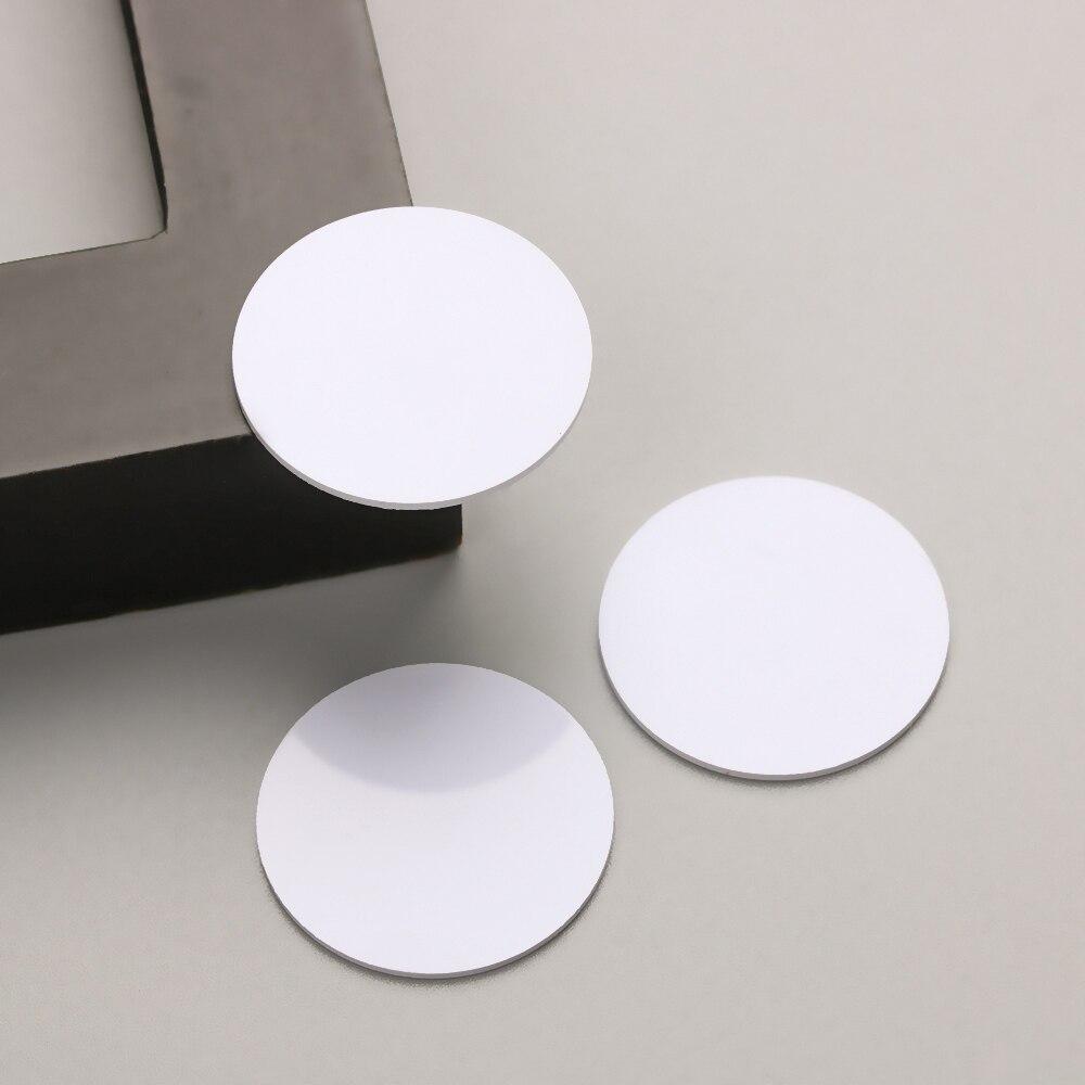 5 шт. Ntag 215 NFC тег мини круглые ярлык ключа бирки для связки ключей образец патруль универсальный RFID метки NFC телефон чип электронные карты
