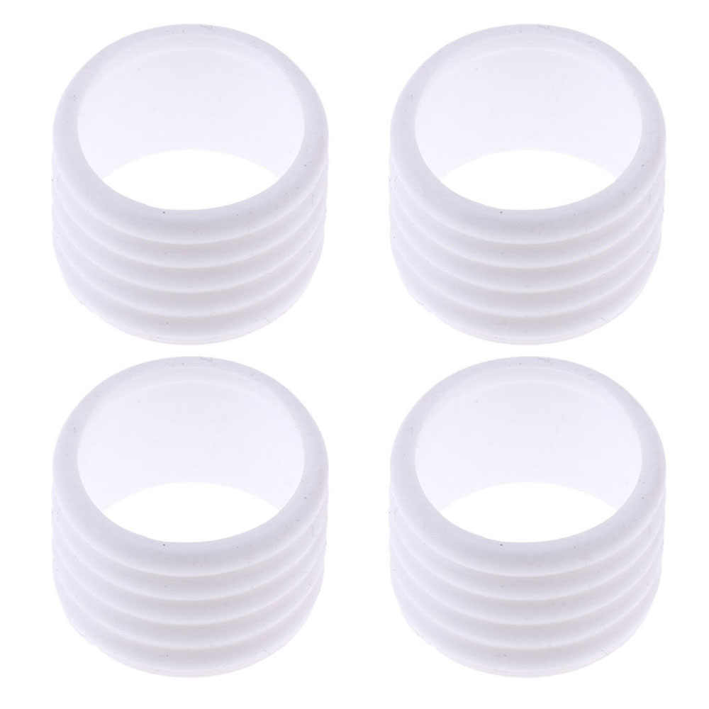 3 Pieces Racket Handle Ring Tennis Racquet Band Overgrip Protector Sealing