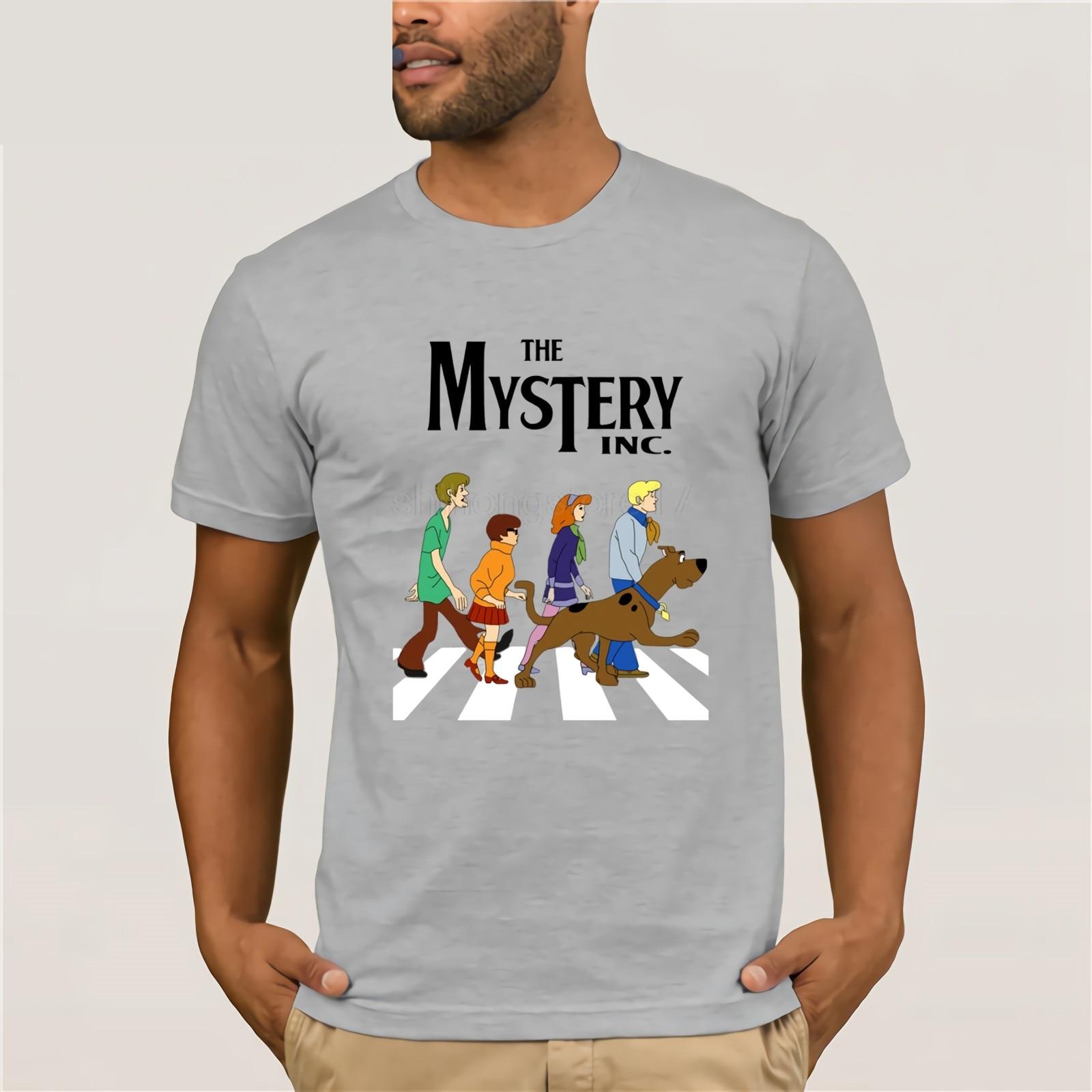 Kühlen Scooby Doo T Mann Runde Kragen Große Größe Scooby-Doo T Shirt Für Männer Casual Camiseta Men T Shirt Short Sleeve Round