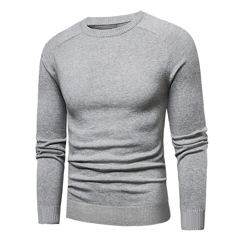 MuLS 2019 Sweater Pollovers Men Casual Cotton Knitted Sweater Jumper Pullover Round-Neck Knitwear Polo Jersey Men Plus Size 5XL 04