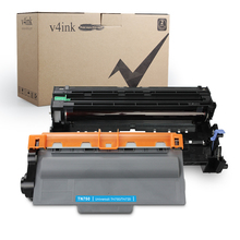 1PK TN750 Compatible Toner Cartridge and 1PK DR720 Drum Set for Brother hl-5470dw hl-5470dwt mfc-8710dw mfc-8950dw картридж revcol схожий с brother tn 3385 750 3380 3340 56j 128741 для brother hl 5440d 5445d 5450dn 5470dw 6180dw mfc8520dn 8515dn 8510dn 8710dw 8910dw 8950dtw dcp8110dn 8150dn 8155dn lenovo lj3700d 3700dn 3800dn 3800dw m8600dn 8900dnf