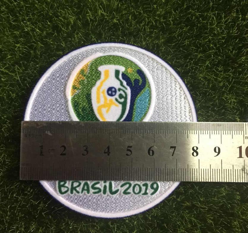 2019 Patch de Copa América E 2015 Chile Copa América Campeon Futebol Remendo Crachá