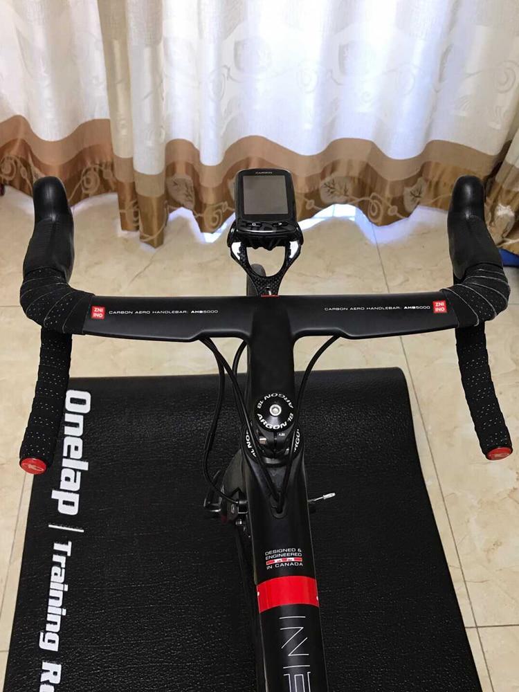 Black Road bike matt full carbon fibre bicycle handlebar and stem integratived