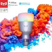 Yeelight-bombilla LED inteligente 1SE E27, 6W, RGBW, Control remoto colorido, para Asistente de Google, Amazon, Alexa, Xiaomi, Mijia App