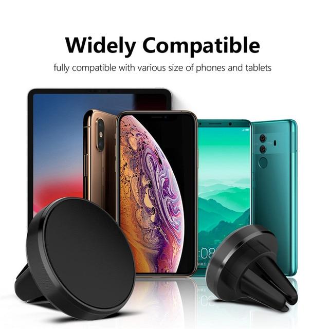 GTWIN Magnetico Supporto Del Telefono Dell'automobile per il Telefono Cellulare in Auto Supporto Del Telefono per il iPhone 11 Samsung Xiaomi Air Vent Clip smartphone Stand 6