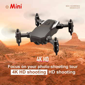 HD Mini Aerial Drone RC WIFI 4K 1080P Small Foldable Quadrotor Easy To Carry  High Hold Mode Helicopter LF606 Outdoor Toys