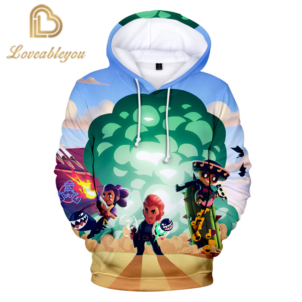 3-14 Years Kids Sweatshirts 3D Print Hoodies For Boys Girls Tops 2020 Spring Autumn Long Sleeve Casual Teenagers Sweatshirts