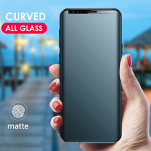 CHYI matte curved for samsung s8 s9 plus screen protector fu
