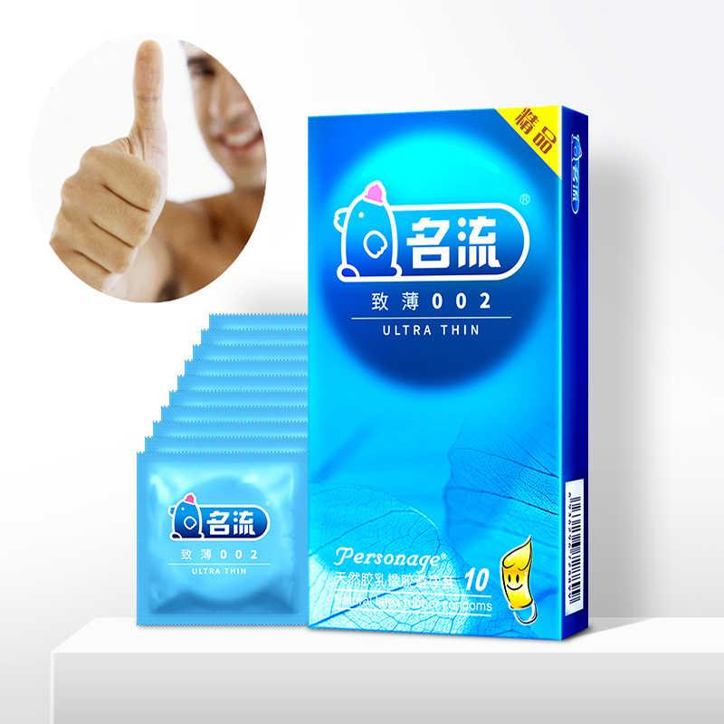 Nouveau 10 pcs/lot Mingliu préservatifs en Latex naturel de haute qualité manchon pour pénis lubrification des préservatifs Condones Contraception plus sûre pour les hommes