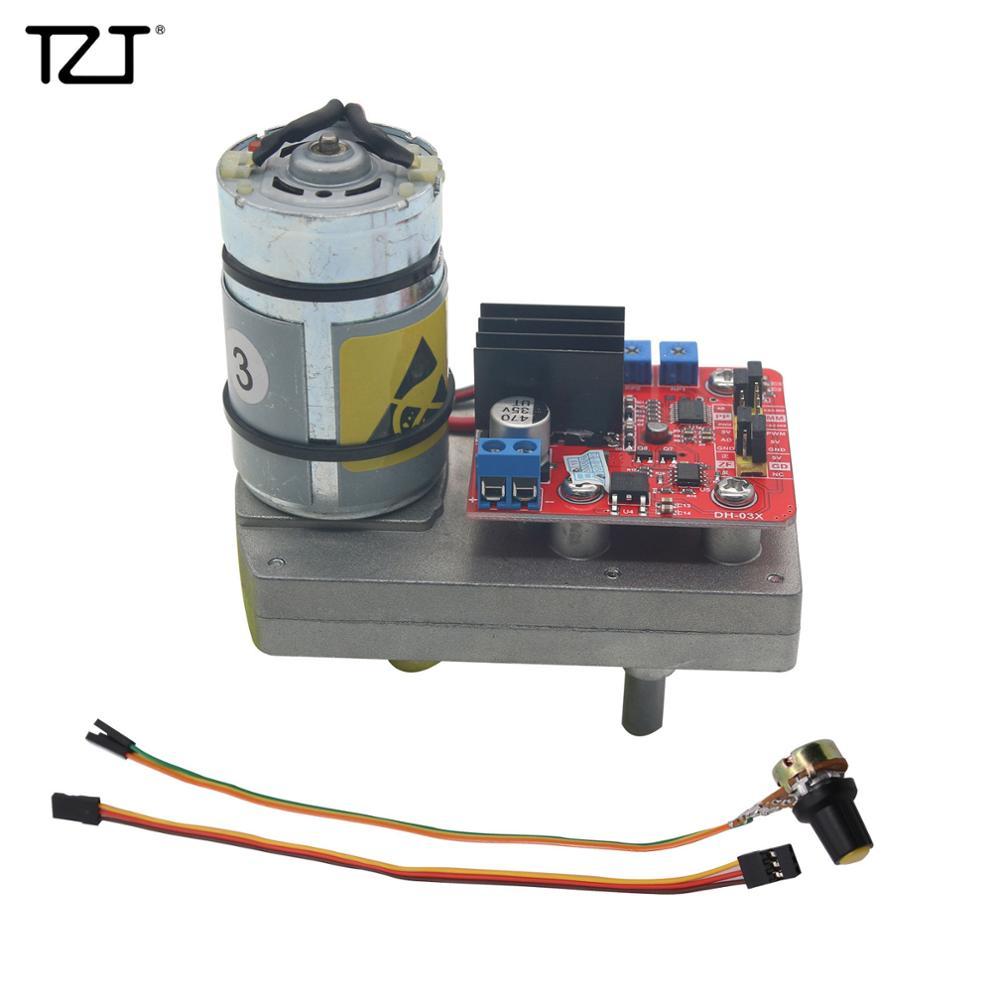 TZT High Torque Servo DC12V 24V 380kg.cm Steel Gear With Potentiometer For Robot Mechanical Arm