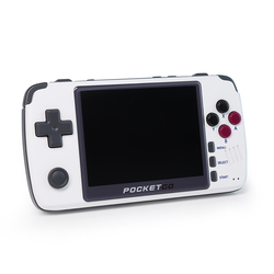New PocketGo Retro Game Console, 3.5inch IPS screen portable game player PG2, Game Handheld Save Game Progress PS1/SNES NPG