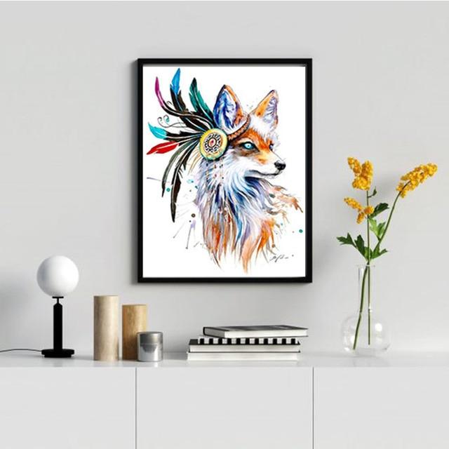 Фото diy 5d diamond painting lion embroidery tiger animal cross stitch