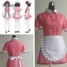 Blend S Kanzaki Hideri Koffie Meid Sakuranomiya Maika Cosplay Kostuum Japanse Anime Uniform Pak Outfit Kleding