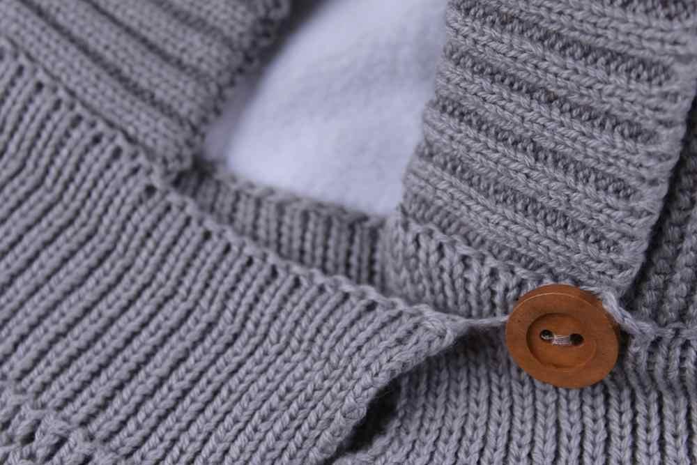 Connectyle 2019 สไตล์ใหม่ทารกเด็กชายหญิงฤดูหนาว WARM หมวกน่ารักหนา Earflap Hood หมวกผ้าพันคอกับ Pom- POM