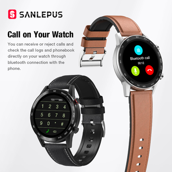 2021 SANLEPUS Smart Watch Bluetooth Call Smartwatch For Men IP68 Waterproof Watches Men's Wristwatch For Huawei Android iPhone 2