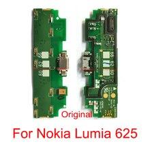 Dock for Nokia Lumia 625/usb-Charger-Port Flex-Cable 10pcs Repair-Part Data Original