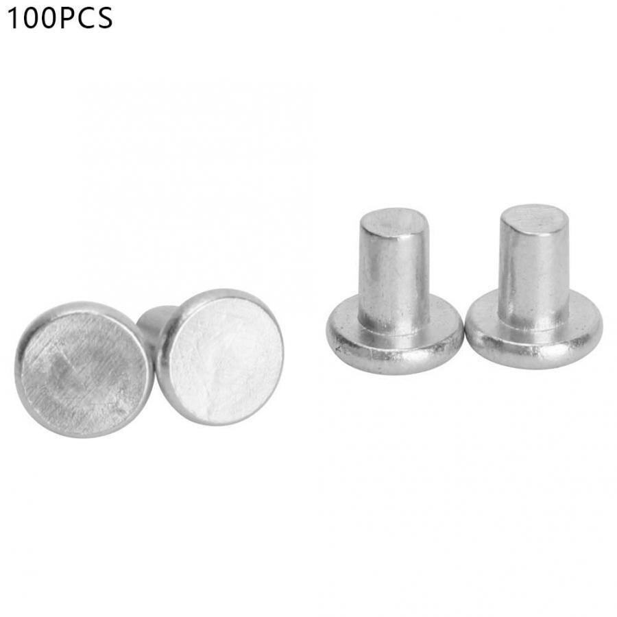 16 Solid Aluminum Rivet 30pcs Tool Accessories M5-10//12//16 Aluminum Flat Head Solid Rivet Set Bolt Flat Head Solid Aluminum Rivet