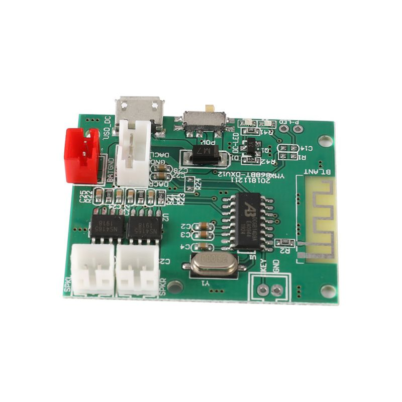 5V 2x5W 2A Amplifier Board Audio Component PCBA Module Plate For Bluetooth Hot Sell