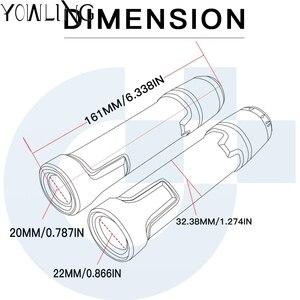 Image 3 - 7/8 22mm עבור Gilera Nexus 300 500 נקסוס 500 כל שנים אופנוע ידיות נגד החלקה קטנוע ידית מסתיים כידון בר יד כידון