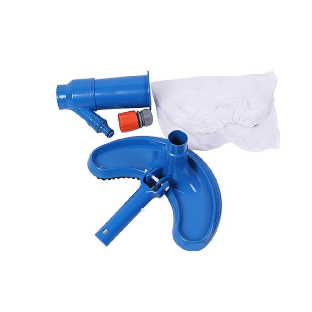 Swimming Pool Suction Vacuum Head Brush Cleaner Half Moon Flexible Swimming Pool Curved Suction Head Cleaning Tool Pool