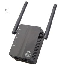 300M Wireless WIFI Signal Enhancement Amplifier Through Wall Repeater Routing Signal Extender Plug And Play недорого