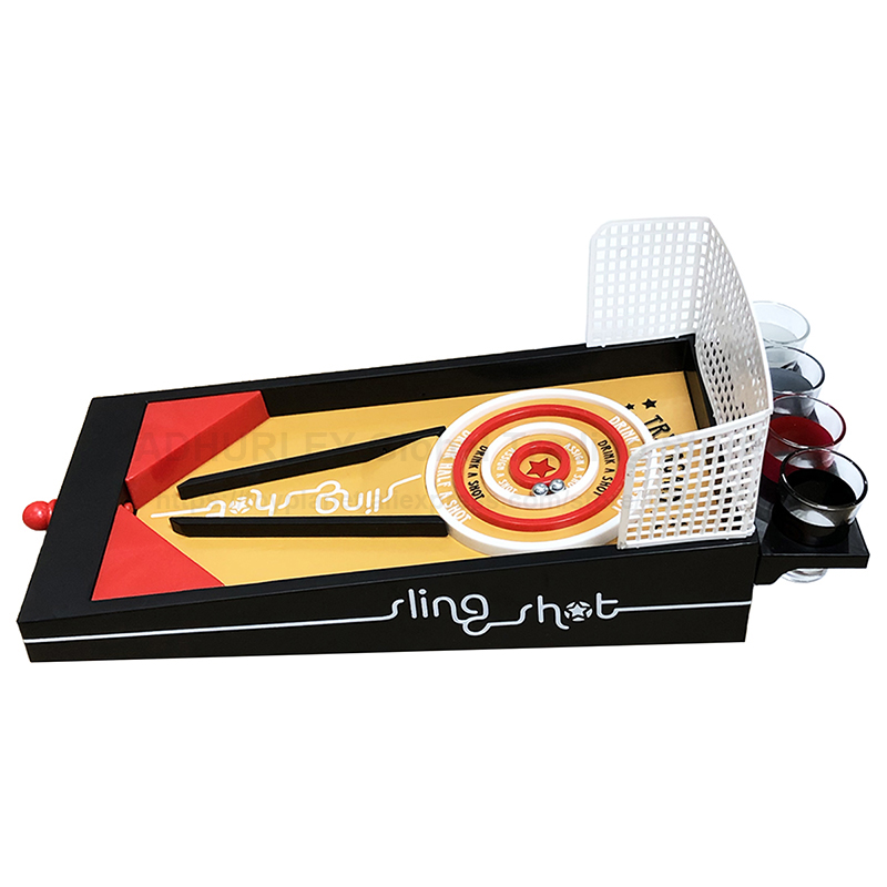 3D Sling Shot Bingo Board Game Pinball Drinking Games Party Table Game
