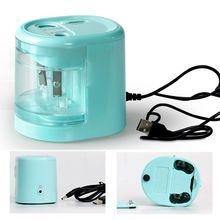 Electric Pencil Sharpener Innovative Automatic Smart Double Hole School Office Stationery Stationery Student Gift