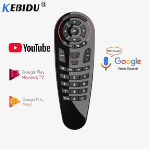 Image 3 - Пульт дистанционного управления Kebidu G10S G20S G30S, гироскоп, голосовое дистанционное управление, ИК обучение, 2,4G Беспроводная воздушная мышь для Android TV Box для Mini H96 MAX X99