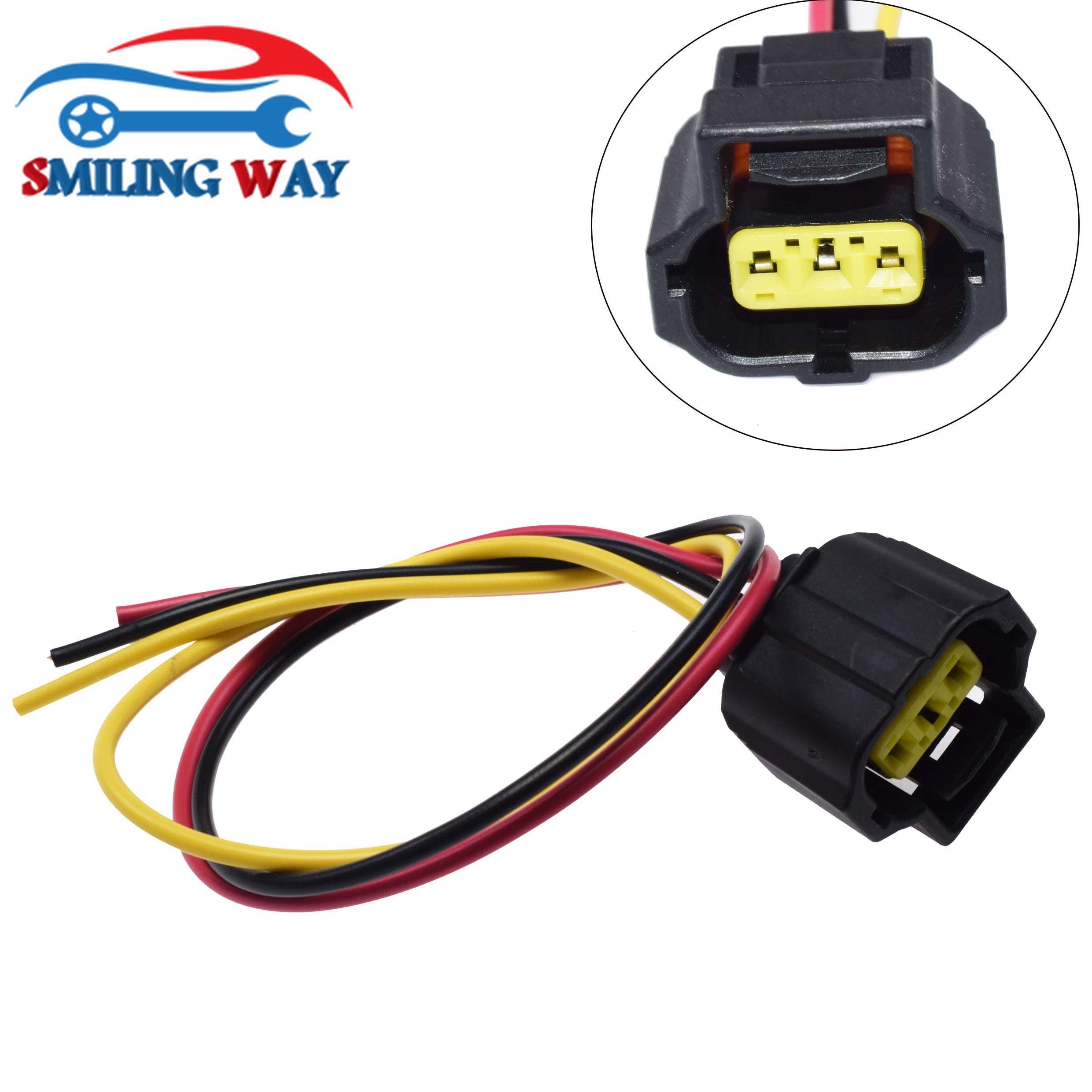 SMILING WAY# 3 pins Sensor Alternator Connector Wire Harness Wiring Pigtail  Plug For Cadillac Chevrolet Ford Mazda Saab PONTIAC|Fuel Inject. Controls &  Parts| - AliExpressAliExpress