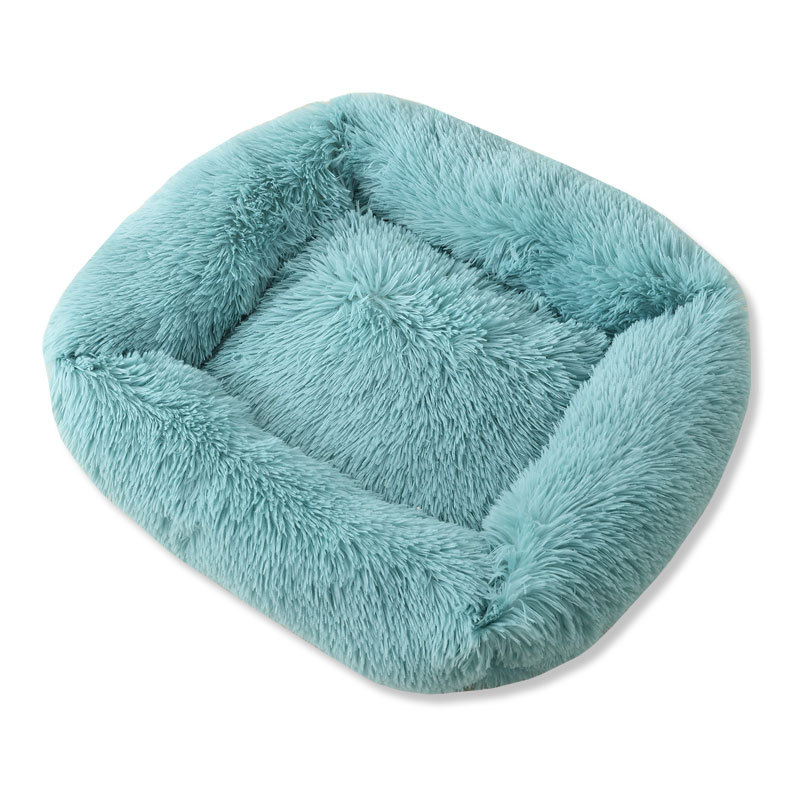 Super Soft Dog Bed House Dog Mat Plush Cat Mat Cats Nest For Large Dogs Bed Labradors House Round Cushion Pet Product Supplies 9