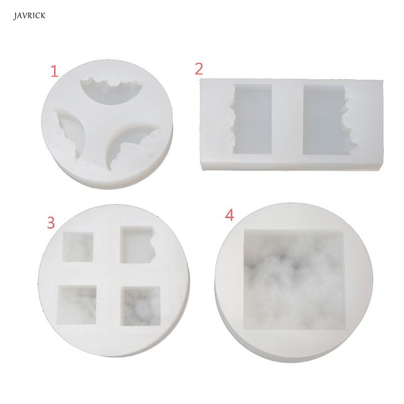 New Transparent Silicone Mould Dried Flower Resin Decorative Craft DIY Snow Mountain Mold Micro Landscape Epoxy Resin Molds
