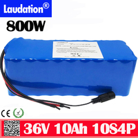 36v battery electric bicycle battery 18650 Li-ion Battery 10S4P 36V10Ah 800W High Power and Capacity Motorcycle Scooter with BMS