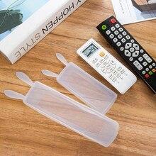 Силиконовый защитный чехол на пульт дистанционного управления для телевизора с забавными заячьими ушками, кондиционер, пульт дистанционного управления, водонепроницаемый защитный чехол