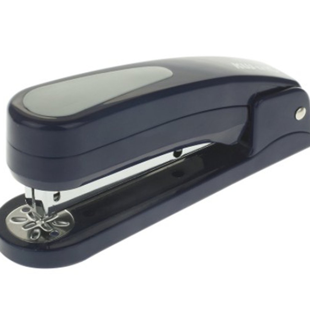 Rotary Medium Stapler Binding 20 Pages Rotated 45 Degrees Without Staples For Paper Binding School Office Accessories