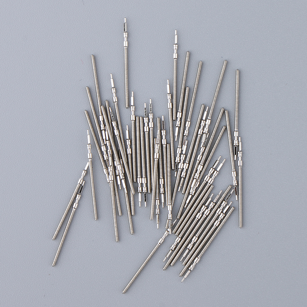 140Pcs Winding Stems Parts For Different Watches Movement Accessories 2035