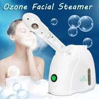 Dampf ozon Gesichts Dampfer Gesicht Sprayer Verdampfer Schönheit Salon Spa Haut Detox Bleaching Feuchtigkeitsspendende Peeling Pflege Maschine auf