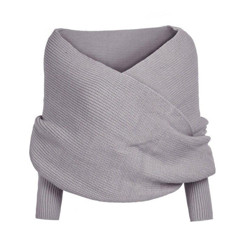 Outono V Pescoço Camisola De Malha Envoltório Pullover Jumper de Malhas Blusas Da Moda 2019 Topos de Inverno Para As Mulheres Truien Puxar Femme Dames