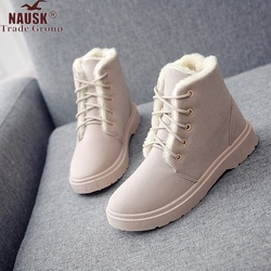 Women Boots 2019 Winter Shoes Woman Snow Boots Large Plush Inside Botas Mujer Waterproof Australian Boots Female Booties