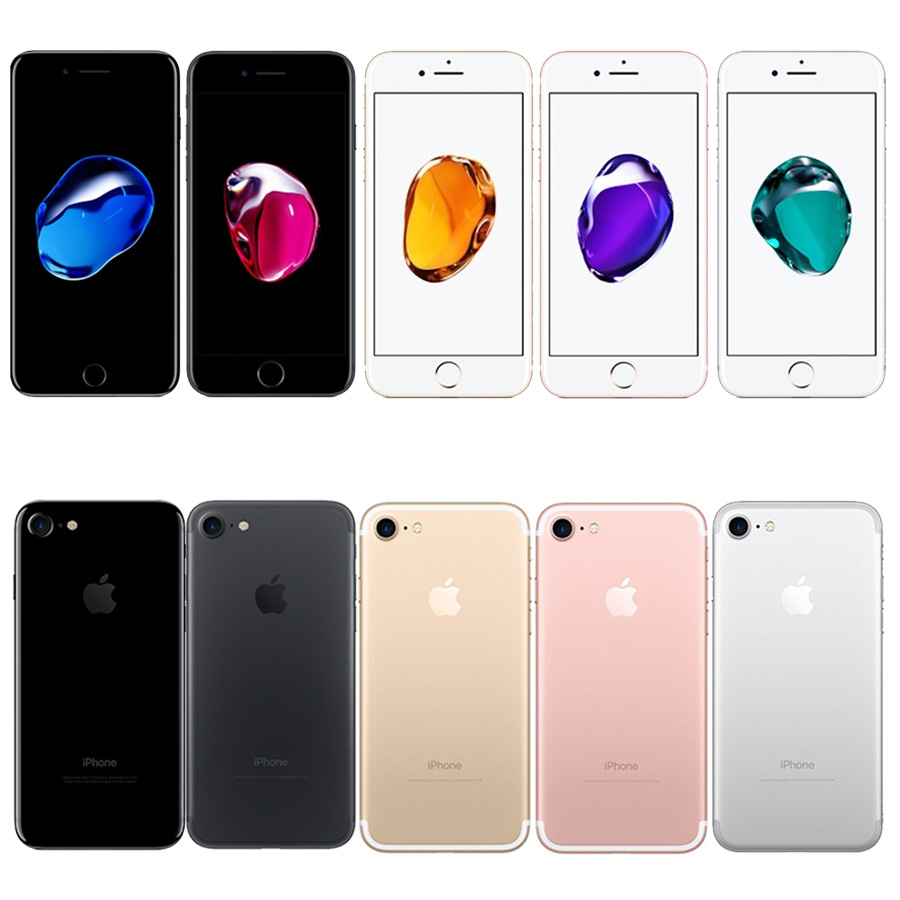 Unlocked Apple IPhone 7 4G Celulares Cell Phone 32/128GB/256GB IOS Quad-Core Fingerprint Mobile Celular Smartphone1960mA Iphone7
