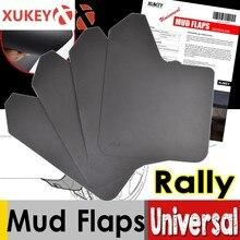 Sport Rally Universal Vorne Hinten Schlamm Flaps Für Auto Pickup SUV Lkw Schmutzfänger Splash Guards Kotflügel Schmutzig Fallen Fender Flares