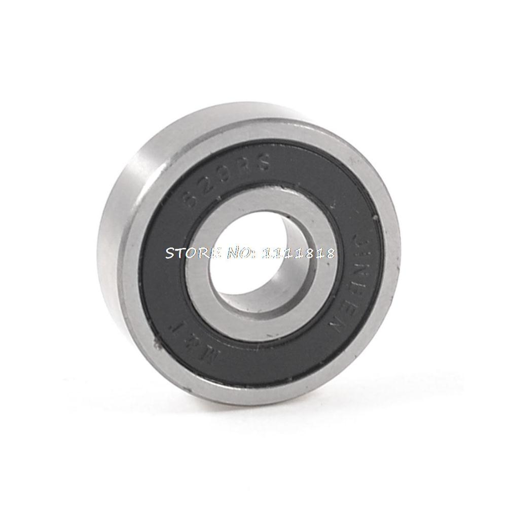 Carbon Steel 629 Shielded Deep Groove Ball Bearing 26mm X 9mm X 8mm