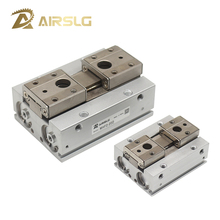 MHF2 Double acting Low Profile Air Gripper Pneumatic cylinder parallel gripper Series MHF2-8D 16D 20D D1 D2 gripper pneumatic mkb63 30l mkb series double acting rotary clamp air pneumatic cylinder mkb63 30l