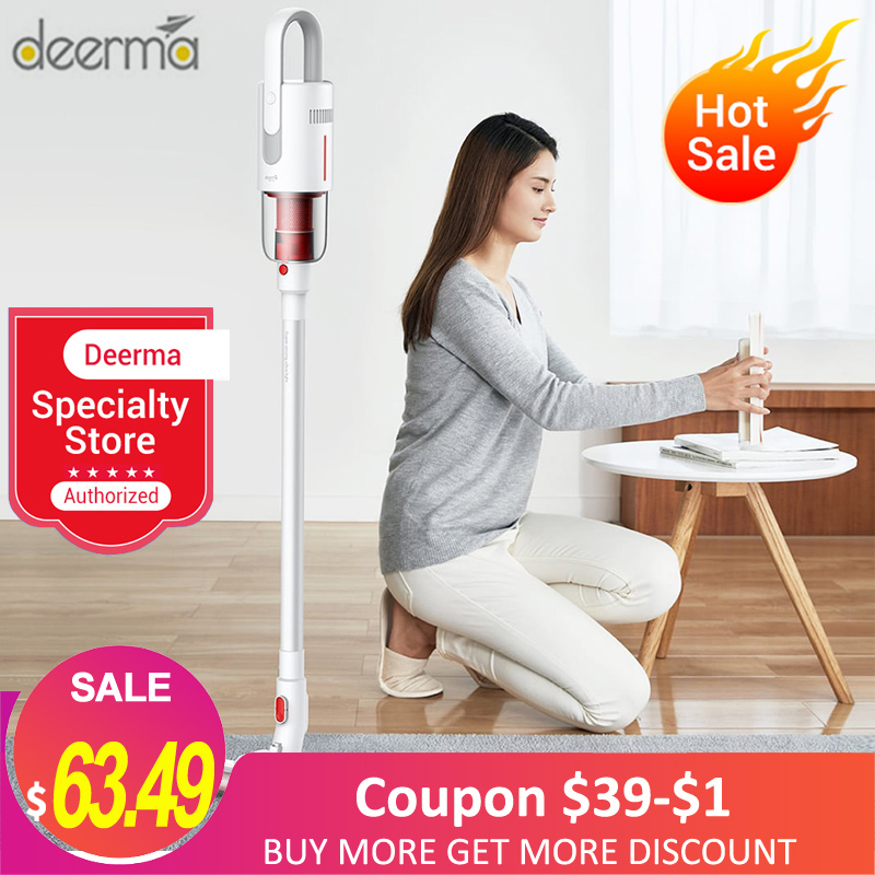 Deerma VC20 VC20S Vacuum Cleaner Wireless Aspirator Vertical/HandHeld Vacuum Cleaner Strong Power Lightweight For Home Car