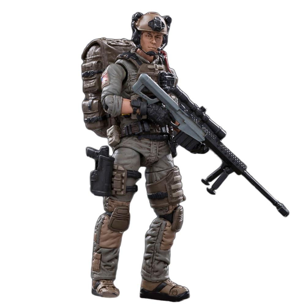 1pcs <font><b>1</b></font>:<font><b>18</b></font> 10.5cm Action <font><b>Figures</b></font> Blind Box Removable Soldier Model Collection with High Degree of Reduction - ( Random Soldier ) image